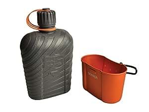 Gerber Feldflasche Bear Grylls 1L - Cúter, color negro / naranja, talla 1 L