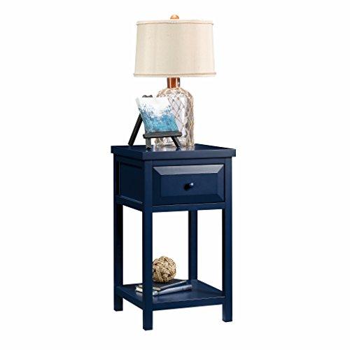 Sauder 420136 Side Table, Indigo Blue