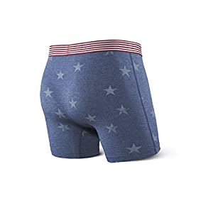 SAXX Underwear Co. Vibe Modern Fit Boxers Blue Spa