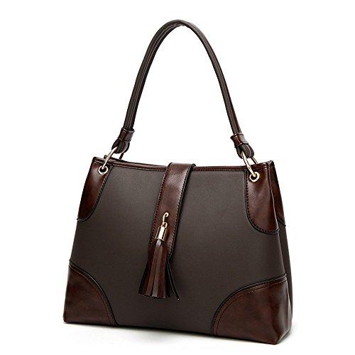 Señoras Brown Bolso Moda Negro GWQGZ Nueva SaqPxPE