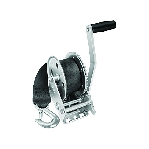 Fulton 142203 Single Speed Winch with 20' Strap - 1500 lbs. Capacity, 1 Pack (Handle Winch Speed Grip)