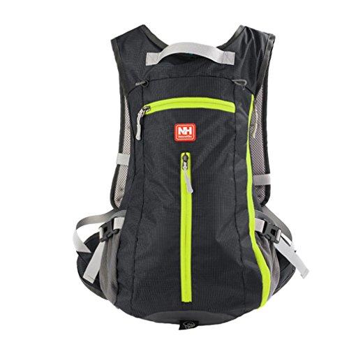 15L waterproof riding helmet backpack Black - 9