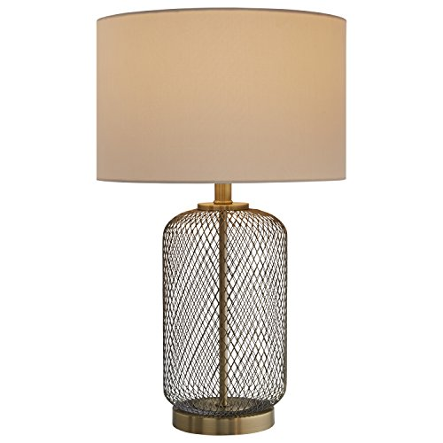 Stone & Beam Modern Mesh Table Lamp, 23