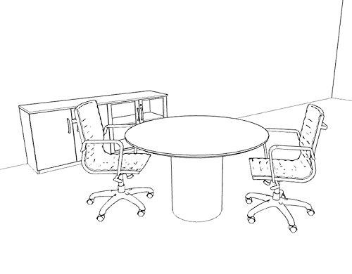 modern contemporary round conference table ro nap c31 amazon co rh amazon co uk Contemporary Glass Conference Tables 16 FT Conference Table