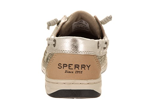 Rose Sperry Top-sider Rosefish Chaussure En Lin / Platine 8,5 M (b)