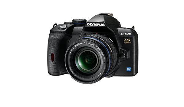 Olympus E-520 - Cámara réflex Digital (10 Mpx, Life View ...