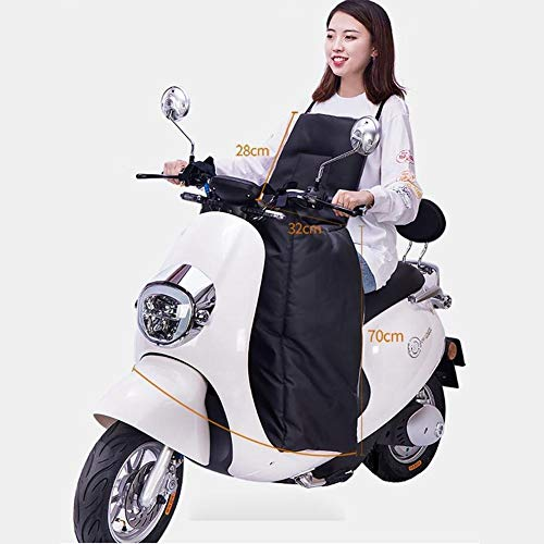 Intenst Motorcycle Winter Windproof Quilt,Leg Lap Apron Cover Thickened Warm Cotton Waterproof Cover for Scooter Usefulness
