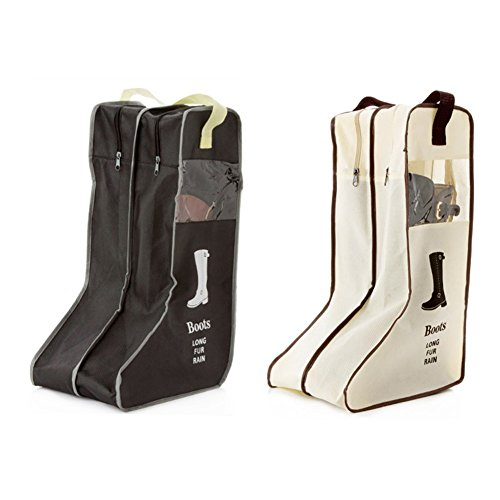 Daixers Portable Tall Boots Storage/Protector Bag,Boots Cover 2 Pack (Easy Homemade Cowboy Costumes)