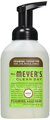 Mrs Meyers Clean Day Apple Foaming Hand Soap, 10 Fluid Ounce - 6 per ()