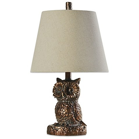 Coventry Briarwood Owl Table Lamp in Bronze (SET OF 2) (Outlet Briarwood)