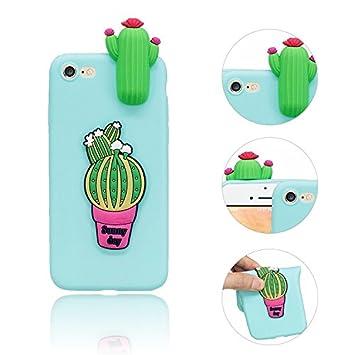 IPhone SE Funda IPhone 5S Fundas Cactus Dibujos animados ...