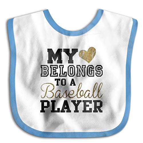 Safe Cotton Kids Lunch Bibs Basketball Player Baby Saliva Towel Cute Feeding -