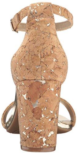 Absatzsandale Cork mit Damen Pink Bandolino Multi Absatz Natural US Zx1wnO