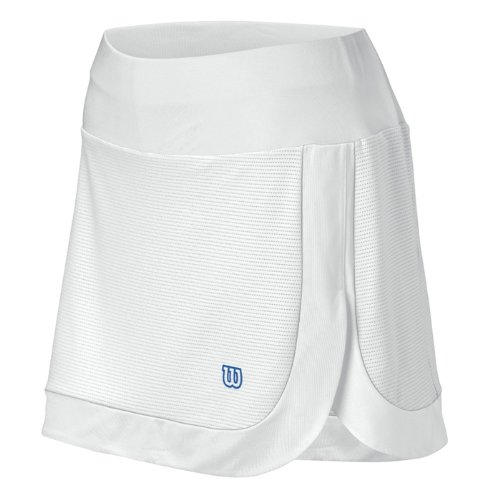 (Wilson Women's Power Play Skirt - White/Sport Royal (XL))