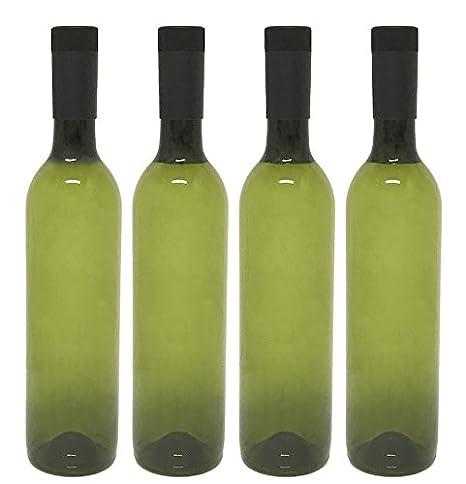Botellas de vino de plástico y tapa con rosca, 25.36 ...