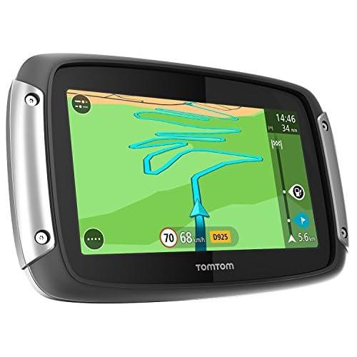 TomTom Rider 400 Premium Pack GPS Eléments Dédiés à la Navigation Embarquée Europe Fixe, 16:9 (Import Europe) outlet