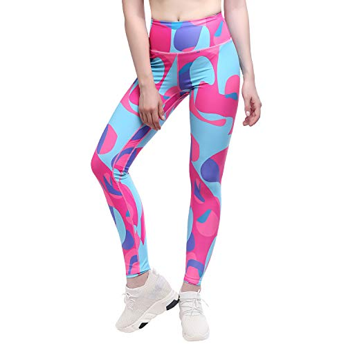 d6feba15247 Yunoga Women s High Waist Yoga Pants - 4 Way Stretch Tummy Control Workout  Leggings with Pockets