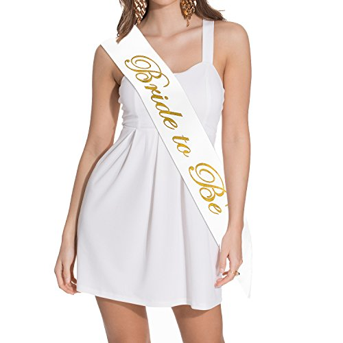 Nymph Code Bride To Be Satin Sash - Bachelorette Party Bridal Shower Wedding Decorative Signs Accessories