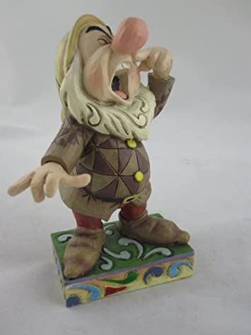 Enesco Disney Traditions Designed by Jim Shore Sneezy Figurine 4.5 in