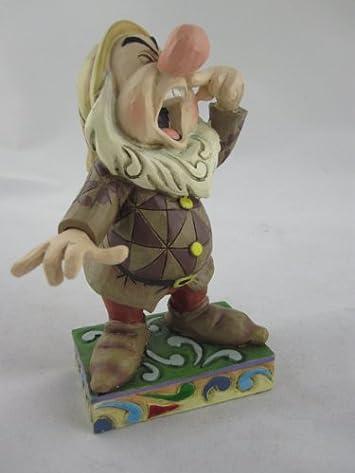 Enesco Disney Traditions Designed by Jim Shore Sneezy Figurine 4.5 in