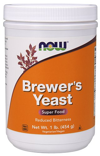 Dry Brewers Yeast (NOW Brewer's Yeast Debittered, 1-Pound)
