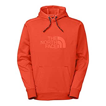 The North Face Ampere Pullover Hoodie Mens Acrylic Orange S