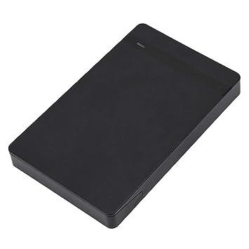 Wendry Carcasa de Disco Duro Externo USB de 2.5 Pulgadas ...