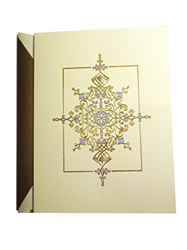 (Single William Arthur Dazzling Ornament Greeting Card with Lined Envelope)
