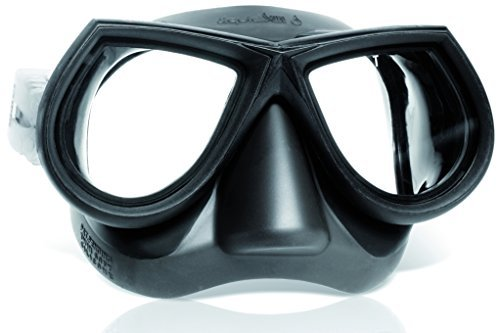 MaresマスクStar液体スキンSF Diving Googles – グレー/グレーby Mares   B01LE3JBQA