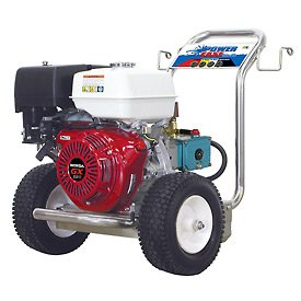 Marvelous BE Pressure P4013HJBS 4000 PSI Pressure Washer   13HP, Honda GX Engine, Cat  Pump