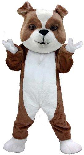 British Bulldog Lightweight Mascot Costume (Bulldog Mascot Costume)