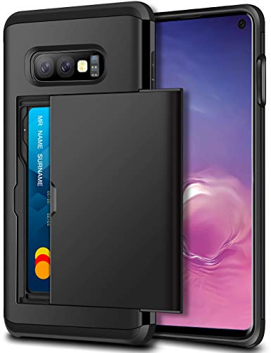 SAMONPOW Case for Galaxy S10e Case Hybrid Dual...