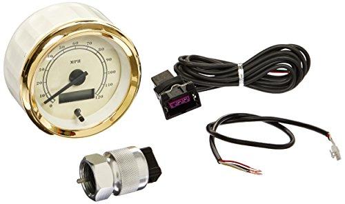Aurora Instruments (GAR110ZEXHAABC) All American Classic Tan Speedometer Gauge