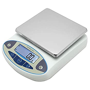 Image of Home and Kitchen CGOLDENWALL Large range Lab Digital Precision Analytical Electronic Balance Lab Scale Precision Jewelry Scales Kitchen Precision Weighing Scale 0.1g Calibrated Pan size: 180 140mm (10kg, 0.1g)