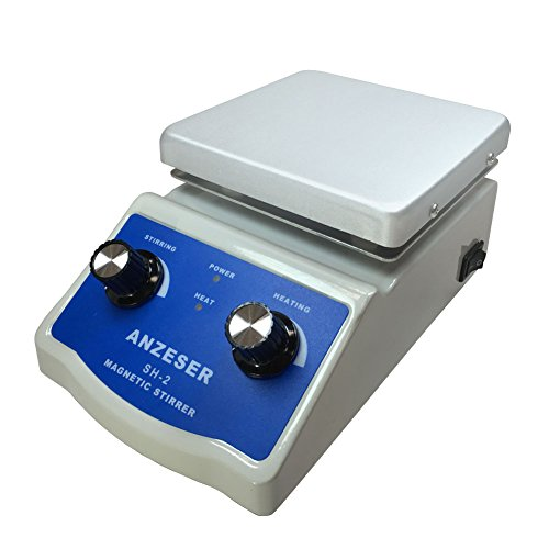 ANZESER SH-2 Magnetic Stirrer with Hot Plate (Magnetic Mixer For Food compare prices)