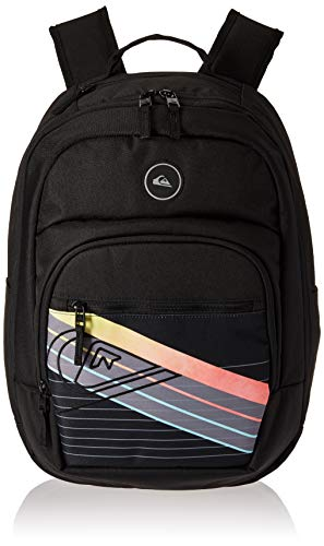 (Quiksilver Men's SCHOOLIE Cooler II Backpack, black, 1SZ)