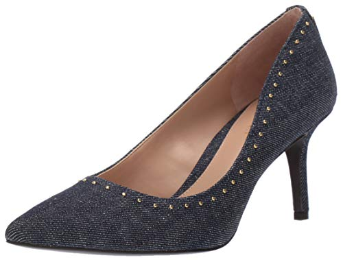 Lauren Ralph Lauren Women's Lanette Pump Denim 10 B US