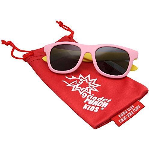 cheap grinderPUNCH KIDS Children's Super Flexible Polarized Sunglasses hot sale