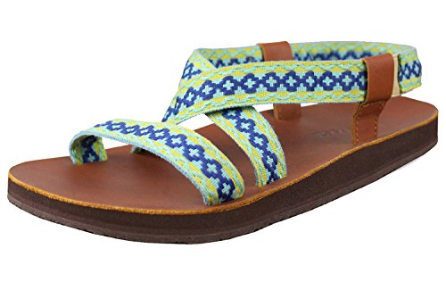 1887f8904c96 Feelgoodz Womens Leather Sandals Infinity – Natural Materials (7