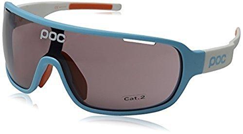 POC DO Blade Larsson Sunglasses Seaborgium Blue / Hydrogen White & Cap - Poc Blade Sunglasses Do