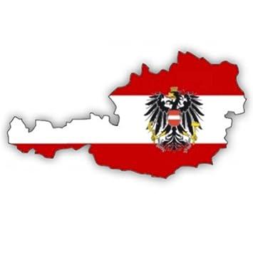 Auto Aufkleber Car Sticker österreich Austria Konturgeschnitten Ca 11 Cm