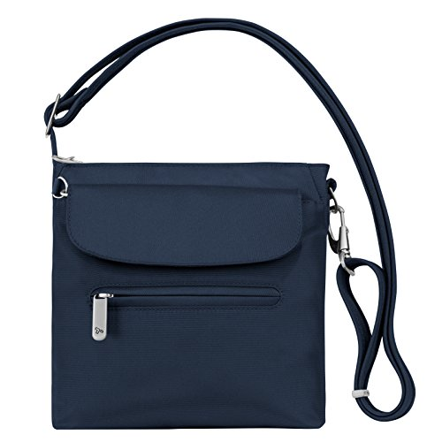 Travelon Anti-Theft Classic Mini Shoulder Bag, Midnight, One Size