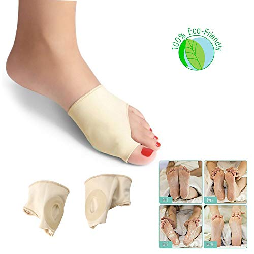 Metatarsal Gel Protector Cushion Pads - Relieve Ball of Foot Forefoot Pain for Plantar Fasciitis,Heel Spurs, HeelPain and