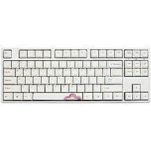 Ducky One TKL Rainbow PBT Dye Sub Mechanical Keyboard (Red Cherry MX)