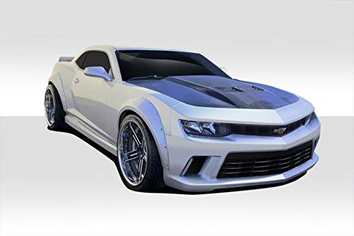 Duraflex Concept Fenders Gt (Duraflex ED-PEL-670 GT Concept Wide Body Kit - 4 Piece Body Kit - Fits Chevrolet Camaro 2010-2015)