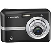 Olympus FE-25 10MP Digital Camera with 3x Optical Zoom and 2.4 inch LCD (Black) At A Glance Review Image