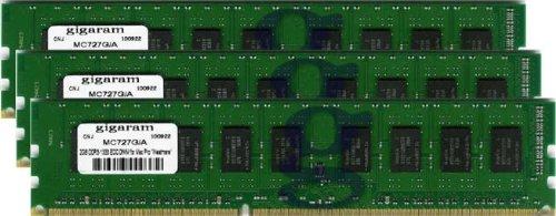 Gigaram 8GB (4x2GB) DDR3-1333 ECC DIMM for Apple Mac Pro 6-Core 3.33Ghz Intel Xeon ''Westmere'' (Apple# 4 x MC727G/A) by Gigaram