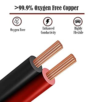 GS Power 16 AWG (American Wire Gauge) OFC Pure Copper Automotive Primary Wire 6 Roll Color Combo (50 Feet Roll, 300 FT total) for 12V Car Audio Video Trailer Harness Wiring (Also in 14 & 18 GA Combo) (Tamaño: 16 AWG)