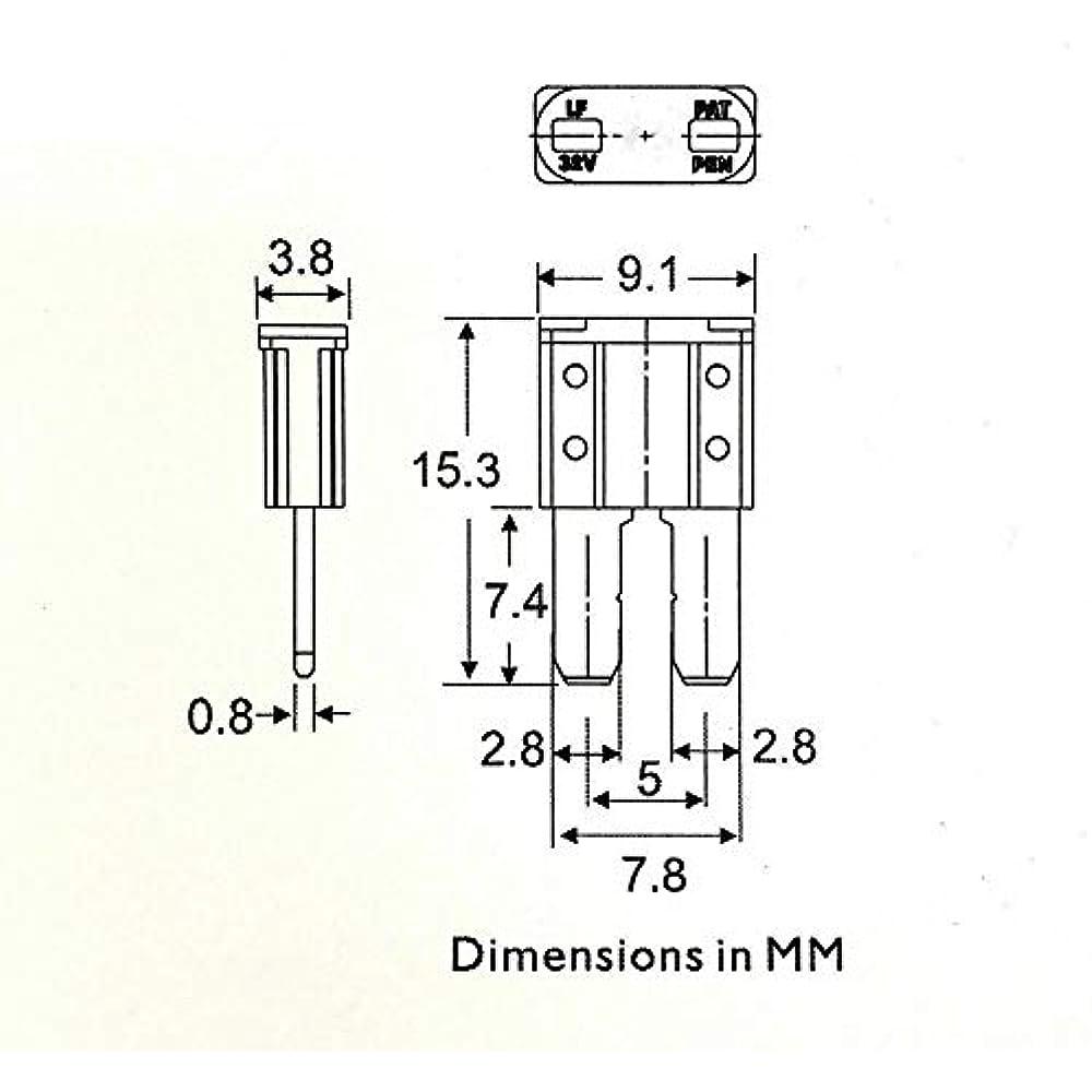 Micro2 Atr Automotive Fuses Assorted 70pc 5  7 5  10 15  20 25  U0026 30 Set Pack