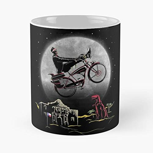 Pee Wee Phone Home Classic Mug Coffee Tea - Mug, Funny 11 Oz Gift Idea For Coworkers, Friends